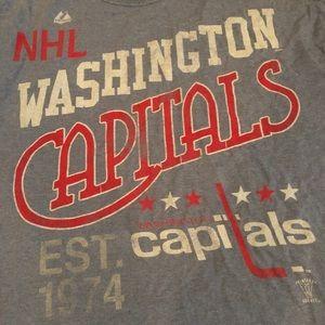 Men's vintage Washington Capitals T-shirt size L